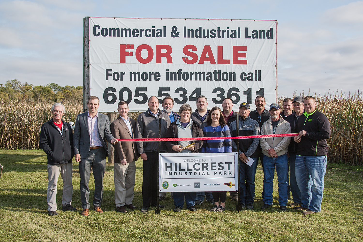 Hillcrest Industrial Park Ribbon Cutting